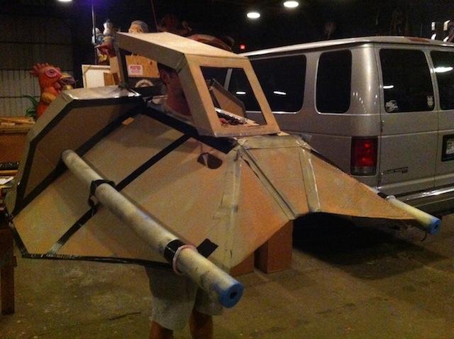 cardboard-snowspeeder