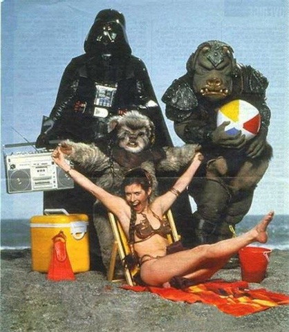 star-wars-beach-party