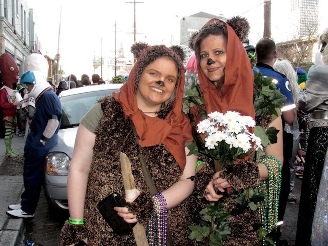ewok girls intergalactic krewe of chewbacchus