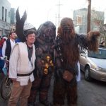 Jedi Roache and Wookiee