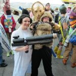 Leia 3PO and Baby Chewie