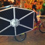 TIE Fighter Keg Bicycle
