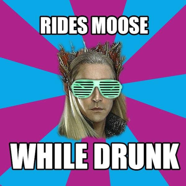 The Party Elves of Mirkwood