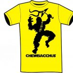 dancingwookie-yellow-tee