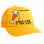 yellow trucker chickengate